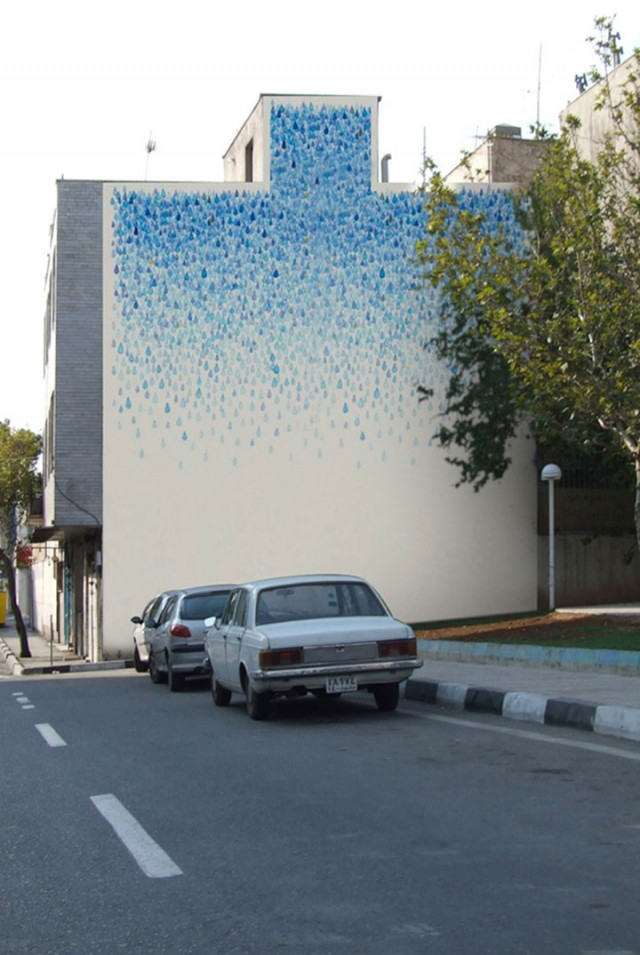 Mehdi Ghadyanloo An Urban Artist Turns Streets Of Tehran Into Art Gallery-12