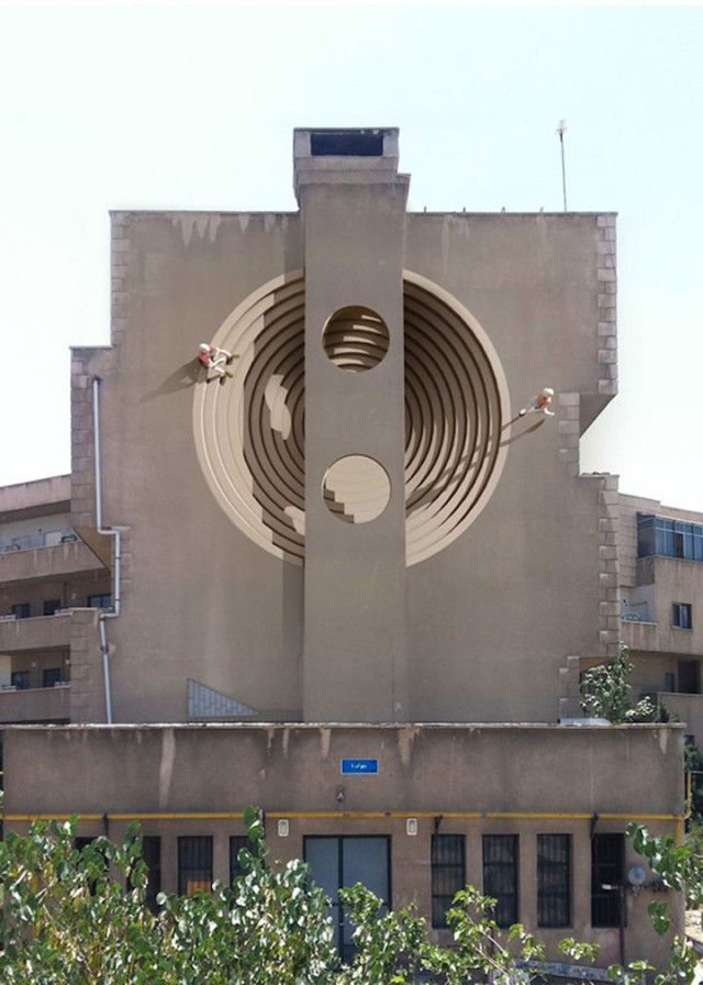 Mehdi Ghadyanloo An Urban Artist Turns Streets Of Tehran Into Art Gallery-19