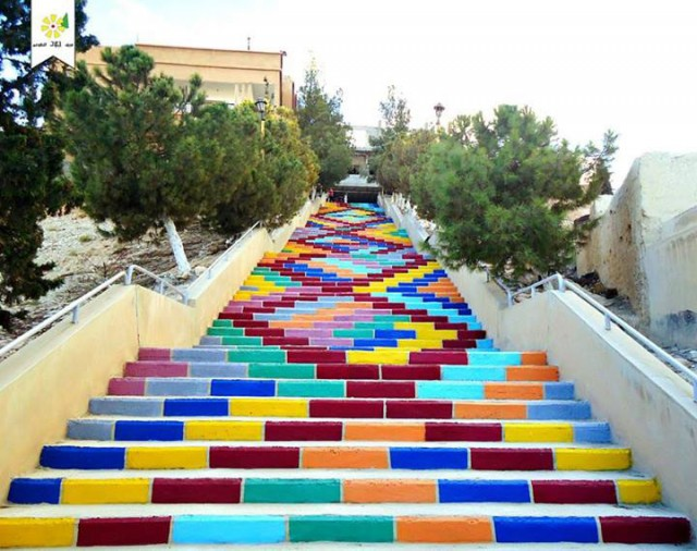 steps for peace - Syria-Top 17 Most Beautiful Stairs That Will Make You Dreaming-3