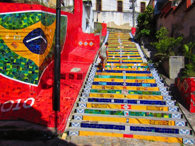Rio de Janeiro - Brazil-Top 17 Most Beautiful Stairs That Will Make You Dreaming-5