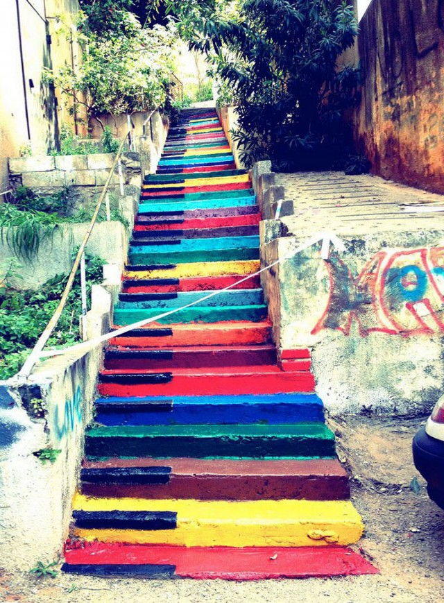 Beirut-Lebanon-Top 17 Most Beautiful Stairs That Will Make You Dreaming-6