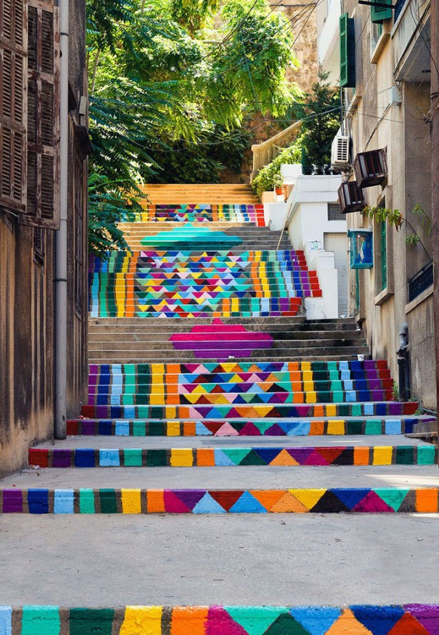 Beirut-Lebanon-Top 17 Most Beautiful Stairs That Will Make You Dreaming-8