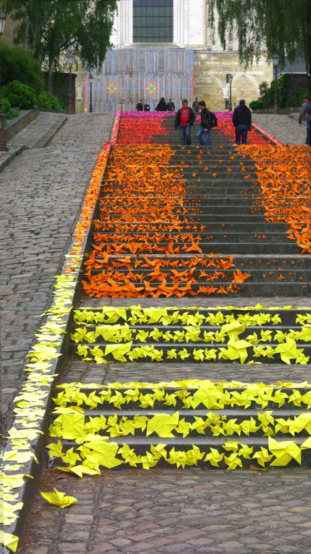 Angers - France.-Top 17 Most Beautiful Stairs That Will Make You Dreaming-9