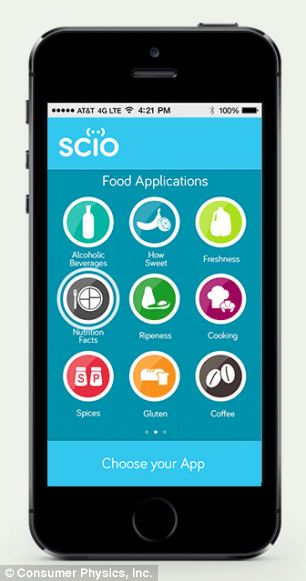 SCiO app with iOS