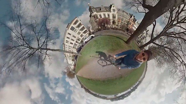 An Amazing Tiny planet Panorama Video Created Using 6 GoPro Cameras-6