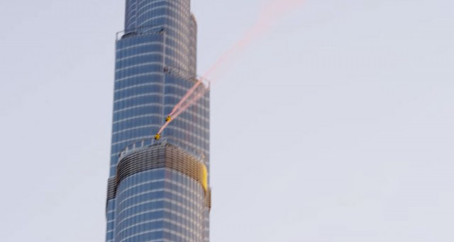 Two French Make World Record By Jumping From World's Highest Tower (Video)-6