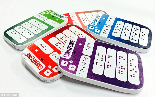 World's first braille phone