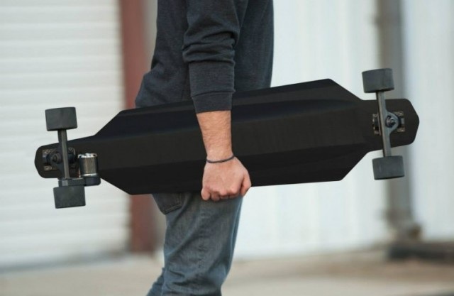 World's lightest skateboard