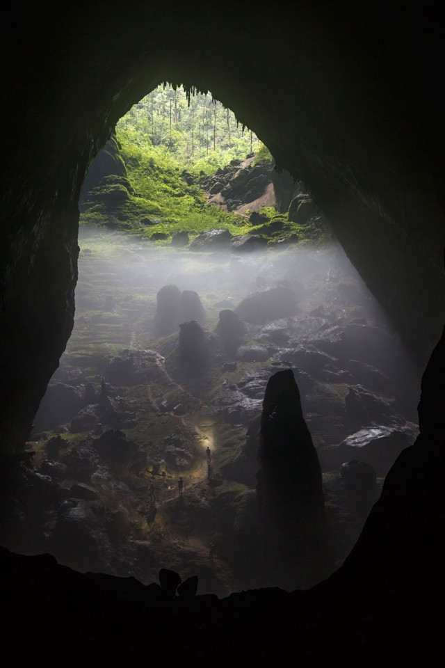 Son Doong, Vietnam-Stunning Photographs From National Geographic Photo Contest 2014-