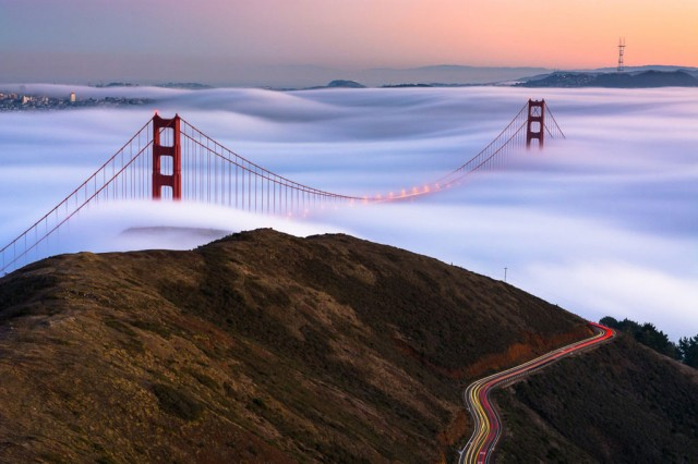 Golden Gate Bridge, San Francisco -Stunning Photographs From National Geographic Photo Contest 2014-1