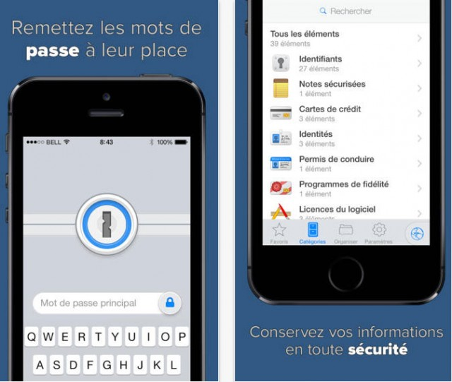 Mobile App of the week: 1Password stores all your passwords-