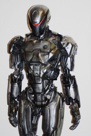 3D printed Robocop by stratasys