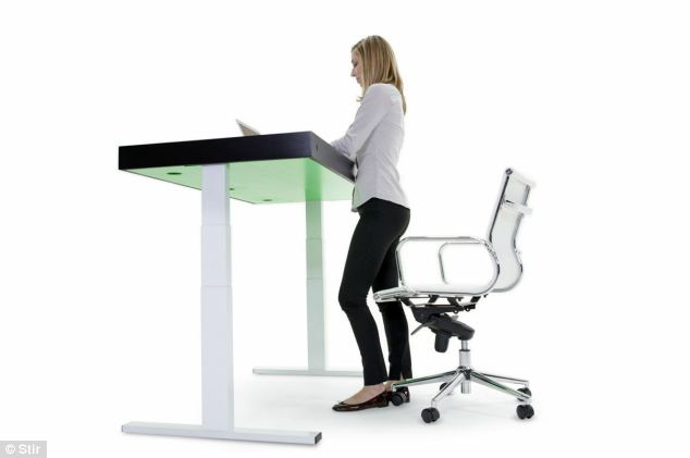 Adjust desk according to your needs