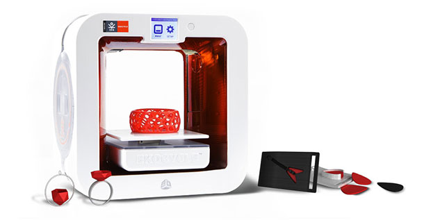 Ekocycle Cube: A 3D Printer That Uses Recycled Coca Cola Bottles As Filament-2
