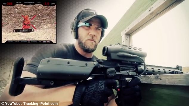 Google Glasses with Rifle