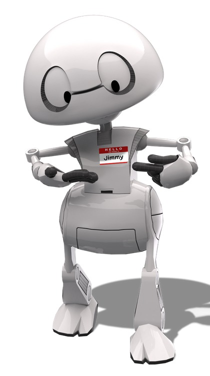 Jimmy: Intel's Open Source 3D Printable Robot-1