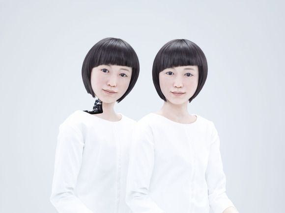 Kodomoroid and Otonaroid- Two japanese human like droids-