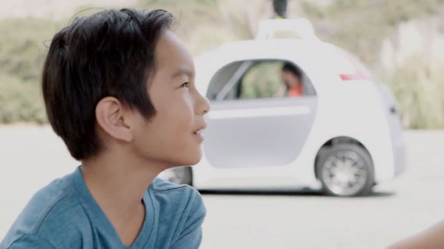 People Experience Google Car Without Steering Wheel For The First Time-1
