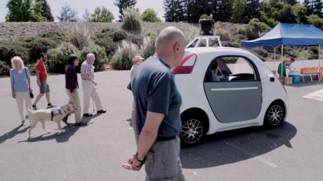 People Experience Google Car Without Steering Wheel For The First Time-4