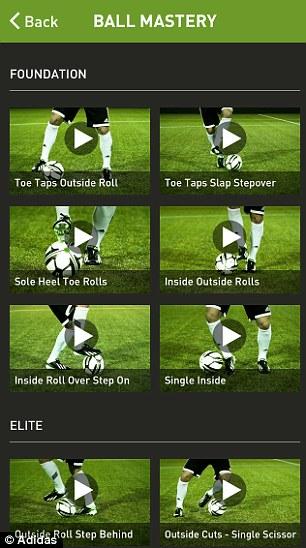 Smart football app