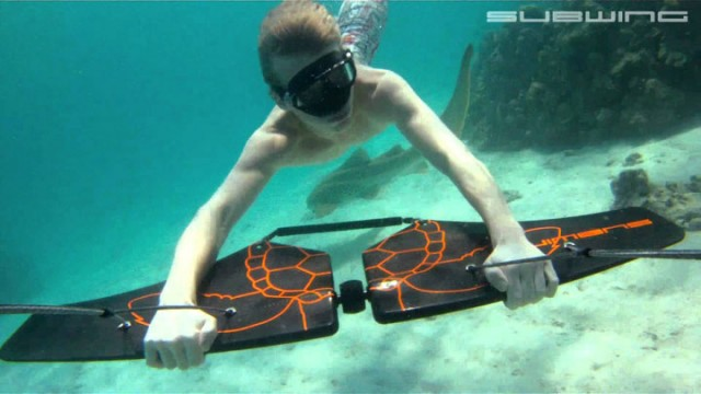 Subwing: A Board That Gives You Sensation Of Flying Underwater-1