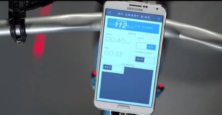 The Samsung Smart Bike With Lasers And On-board Computer-