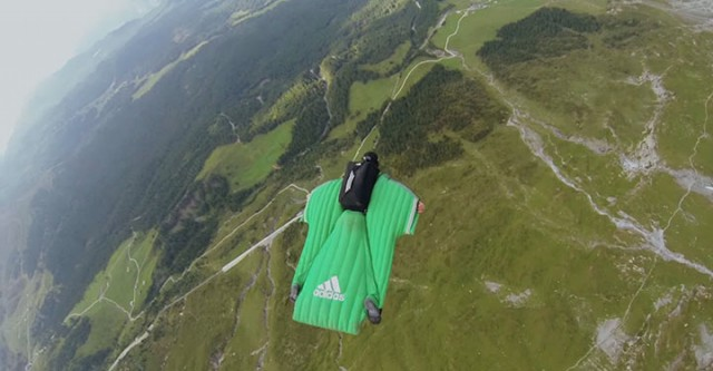 Whisper: World's First Dog To Enjoy BASE Jumping With His Master-4