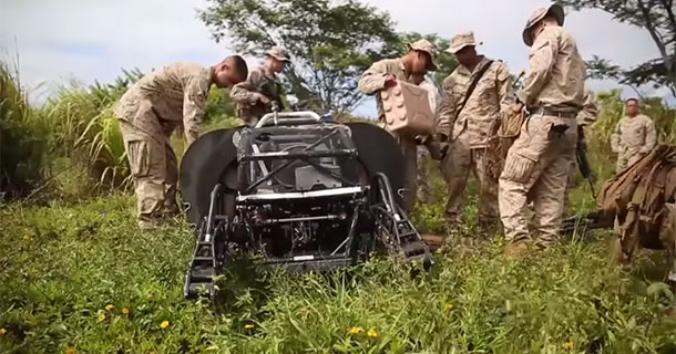 LS3: The Google's Mule Robot Field Tested In RIMPAC 2014 By US Marines-2