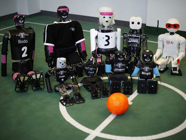 Robocup: A 2014 Football World Cup Of Robots In Brazil-1