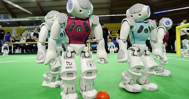 Robocup: A 2014 Football World Cup Of Robots In Brazil-2