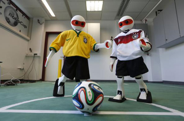 Robocup: A 2014 Football World Cup Of Robots In Brazil-3