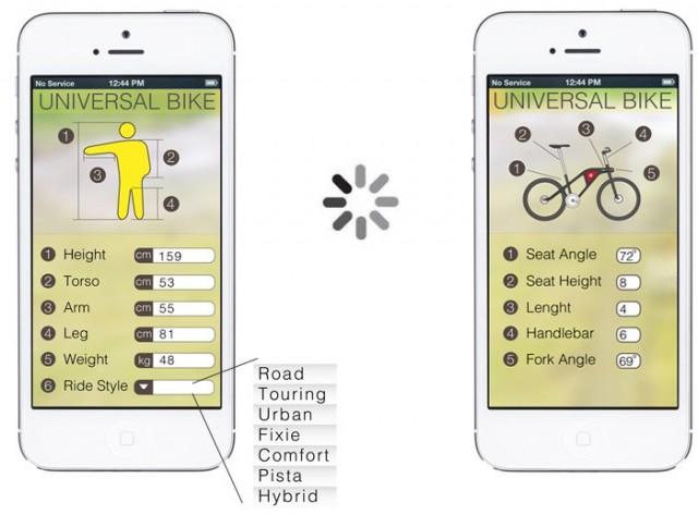app of universal bike