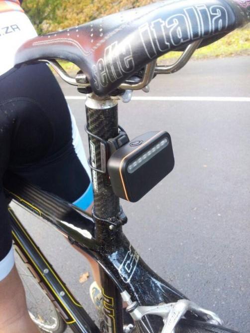 Backtracker: A Radar Based Gadget To Warn The Cyclists