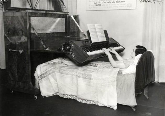 bedridden piano