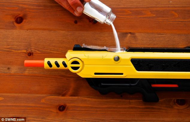 Bug-A-Salt fly killer gun