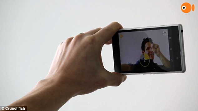 GoCam: An iOS App To Take A Selfie Using Hand Gesture From 10 meters