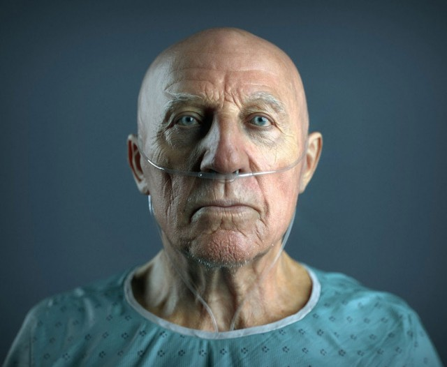 10 Amazingly Life Like Computer Generated 3D Portraits OF Famous Characters-9
