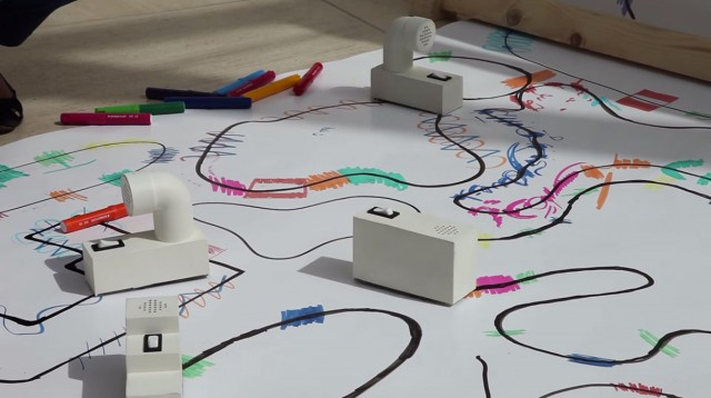 Colour Chaser: A Robot That Creates A Melody From Your Drawing-1