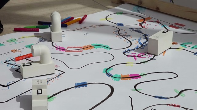 Colour Chaser: A Robot That Creates A Melody From Your Drawing-4
