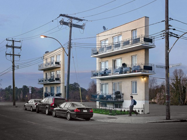 Discover How Our Streets Would Look Like With Buildings Only Having Facades-1