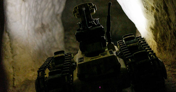 Micro Tactical Ground Robots Of Israeli Army Explore Tunnels In Gaza-3