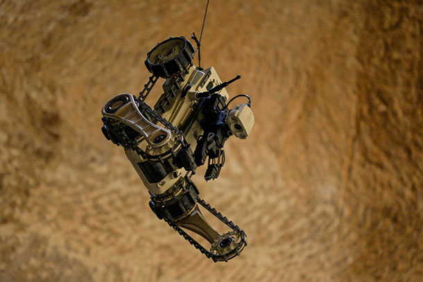 Micro Tactical Ground Robots Of Israeli Army Explore Tunnels In Gaza-4