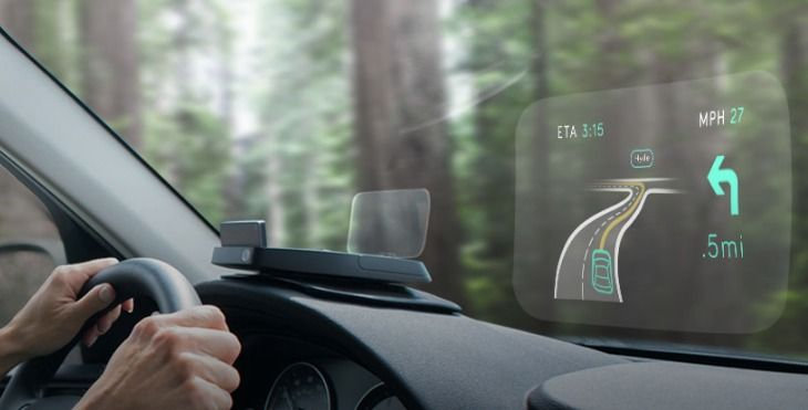 Navdy's New Head-up Display Lets Car Drivers Use Smartphone On Windscreen-