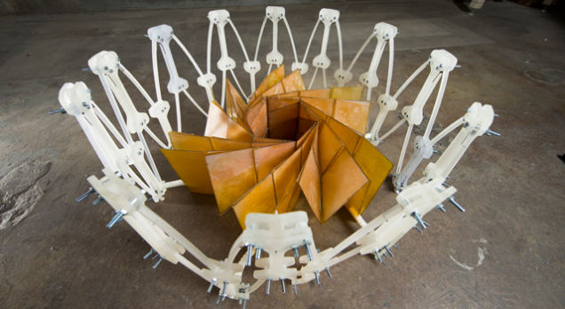 NASA Experimenting With Origami Inspired Foldable Solar Panels For Satellites-1