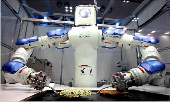 Robot Cook-