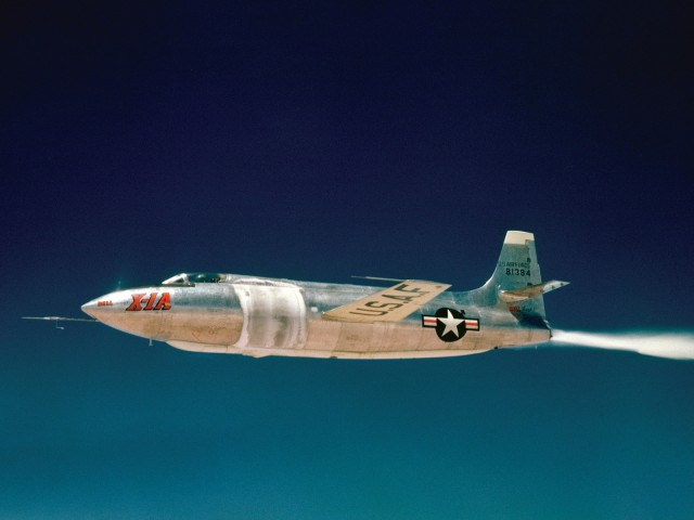 Bell X-1 supersonic flight-Top 10 American Engineering Innovations That Changed Our Lives-8