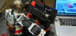 A Humanoid Robot That Can Control A Flight Simulator Plane-