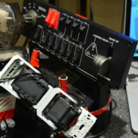 A Humanoid Robot That Can Control A Flight Simulator Plane