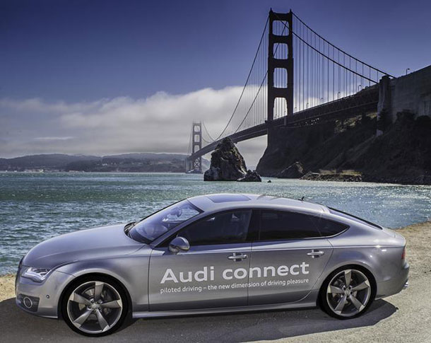 Audi Gets License To Test Drive Its First Autonomous car A7 in California-