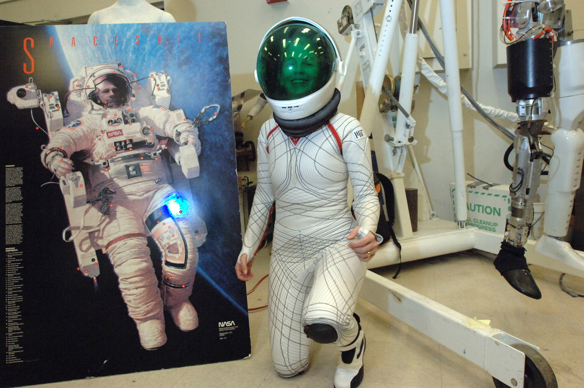 woman in tight space suit - photo #7